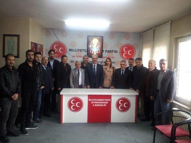 Add'den Muhalefet Partilerinin İl Başkanlıklarına Ziyaret