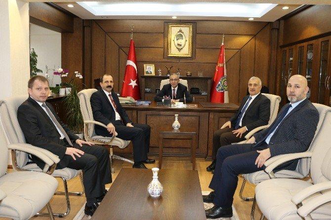 AK Parti İl Başkanı Göksel'in Kurum Ziyaretleri