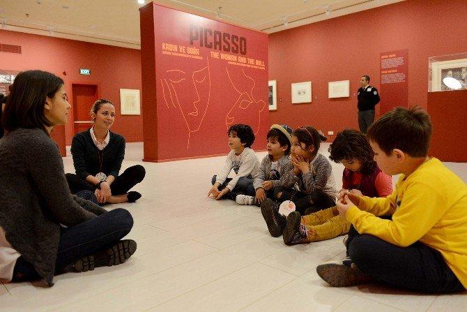 Antalya Kültür Sanat'ta Geleceğin Picasso'ları Yetişiyor