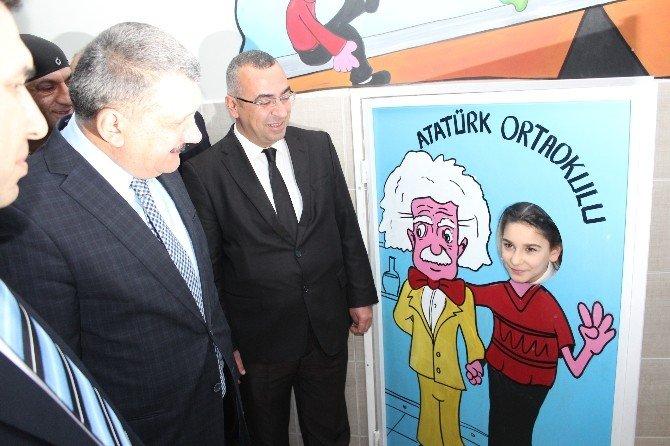 Atatürk Ortaokulu'nda Eğitim Sokağı Açıldı