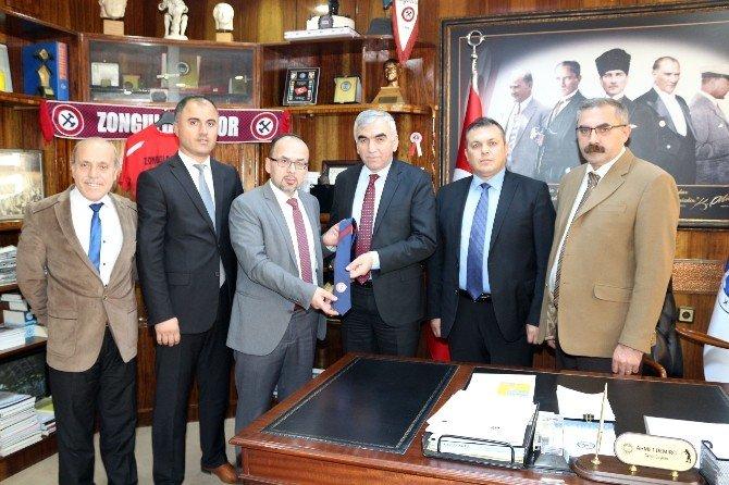 Avrupa Zonguldaklılar Derneği'nden GMİS'e Ziyaret