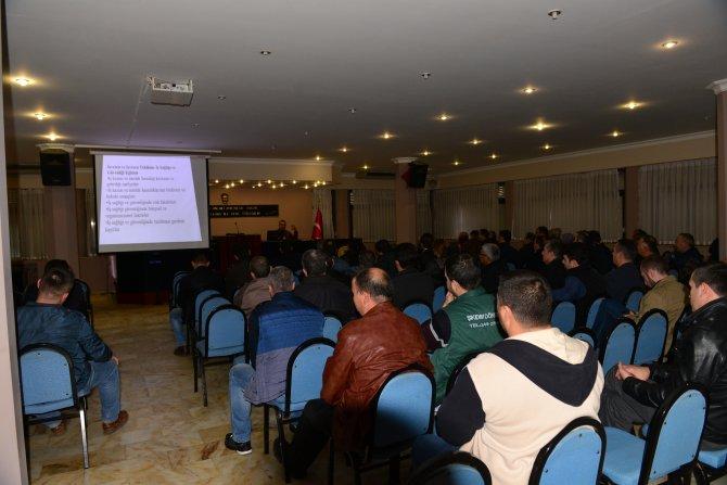 Balıkesir'de aşçılara iş sağlığı semineri verildi
