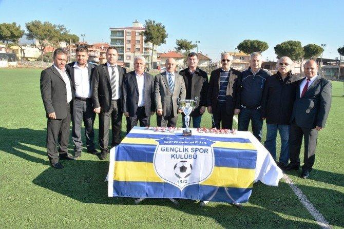 Başkan Akın'dan Şampiyon Germencikspor'a Tam Destek