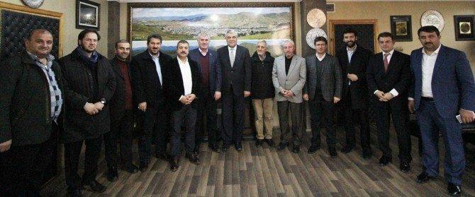 Igmg Heyetinden Başkan Memiş'e Ziyaret