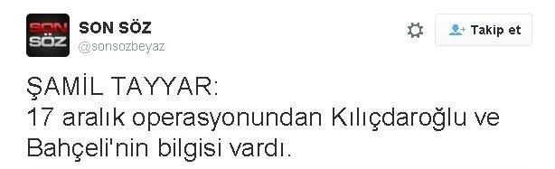Şamil Tayyar'dan Beyaz'a Destek