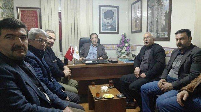 Başkan Bulutlar'dan AK Parti Temsilciliğine Ziyaret