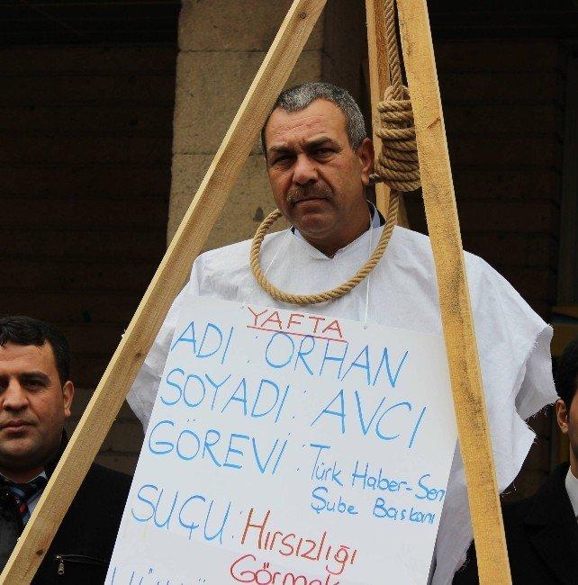 Bursa'nın Göbeğinde Kendilerini Böyle Astılar