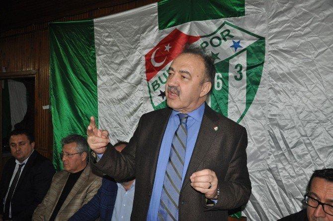 Başkan Adayı Vatan, İnegöllü Bursasporlular'dan Destek İstedi