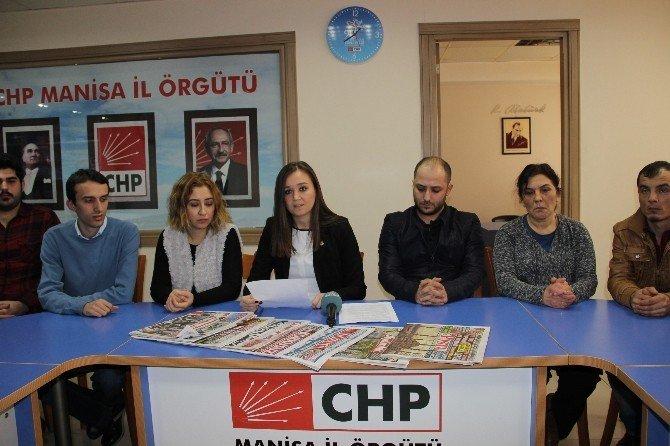 CHP'liler MİT'e Günün Gazetelerini Gönderdi