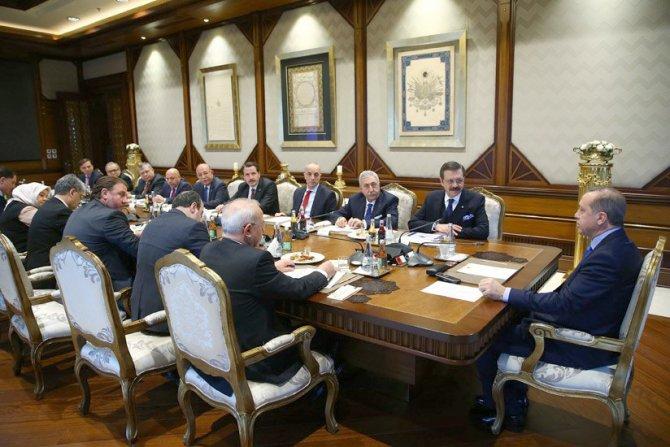 Türkiye - AB Karma İstişare Komitesi üyeleri Saray'da