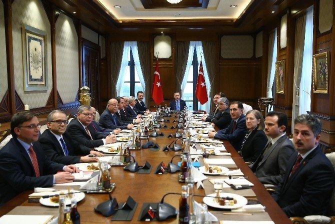 Türkiye-ab Karma İstişare Komitesi Üyeleri Beştepe'de