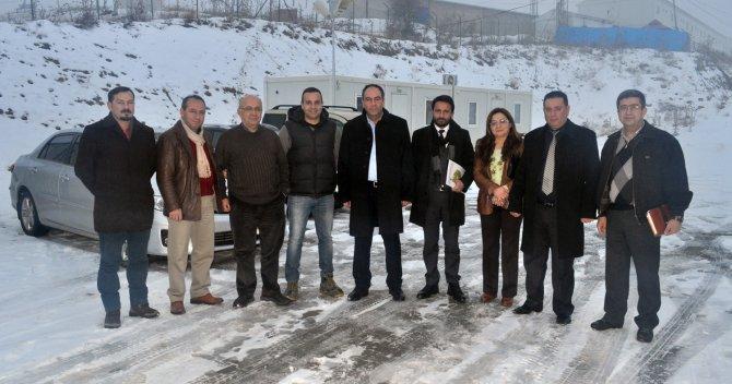 CHP Milletvekili Tümer, Tufanbeyli'de