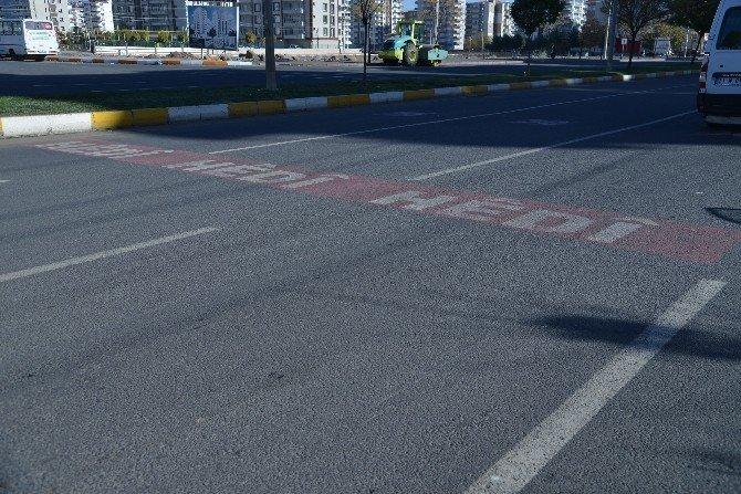 Sürücülere Türkçe Ve Kürtçe Uyarı Levhaları