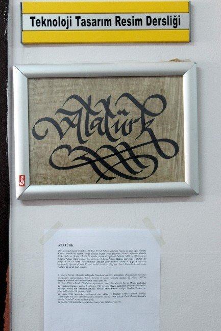Sınıflar, Kaligrafi Sanatıyla Adlandırıldı