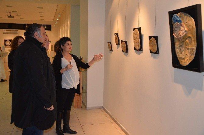 Sema Çamoğlu Sosyal'in Sergisine Ziyaret