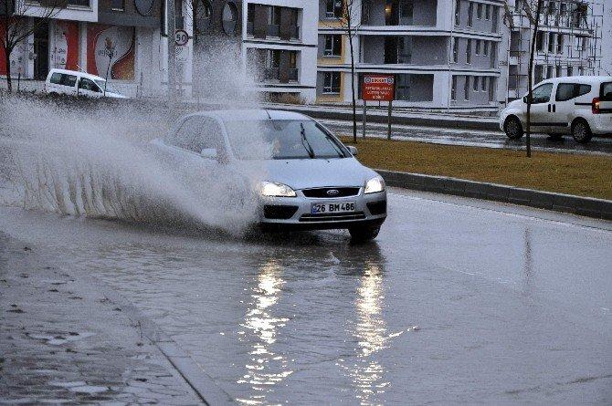 Eskişehir'de Kar Yağışı