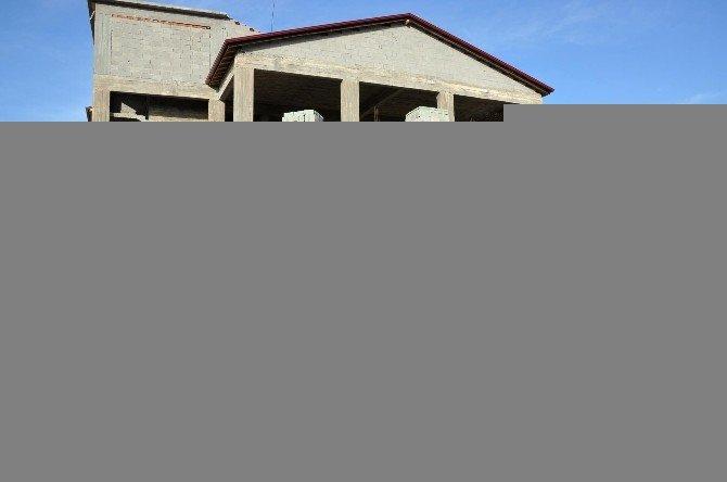 Eymir Belediyesi Kültür Evi İnşaatı Hızla Sürüyor