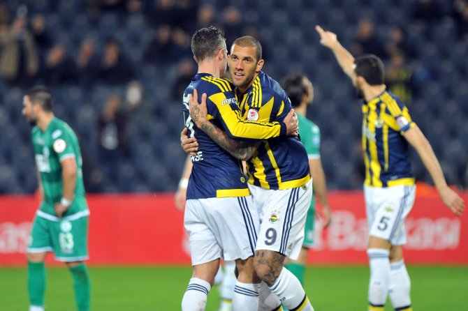 Fenerbahçe, Giresunspor'u 6-1 mağlup etti