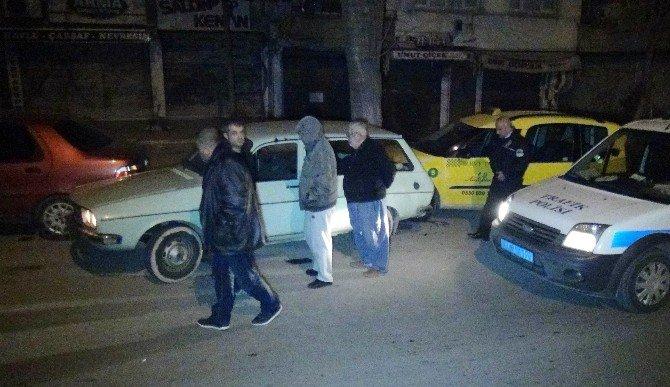 Gaziantep'te Çalıntı Araçla Kaçan Hırsız Yakalandı