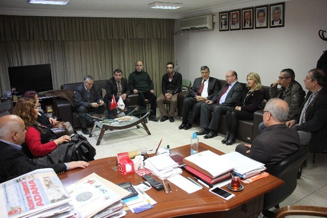 CHP Adana İl Yönetiminden Çgc'ye Ziyaret