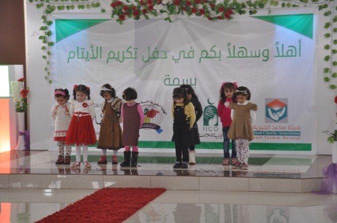 Suriyeli Yetim Çocuklara Moral Günü