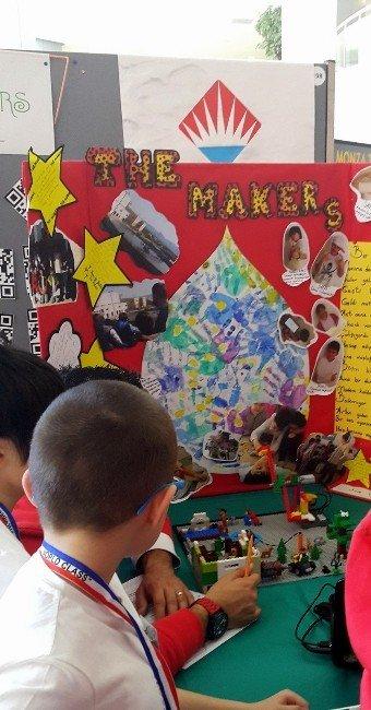Minik Kahramanlar Junior Fırst Lego League'de Buluşuyor