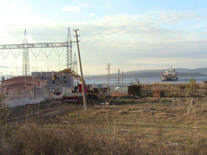 İkinci Elektrik İletim Hattı Çanakkale Boğazından Geçiyor