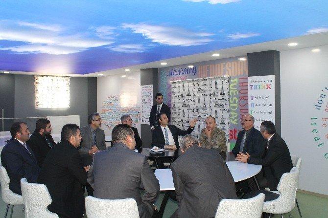 Çat'ta İngilizce Sınıfı Açılışı
