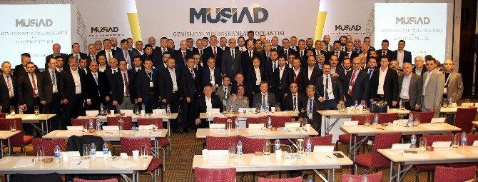 MÜSİAD Başkanı Çakmak Ankara'da