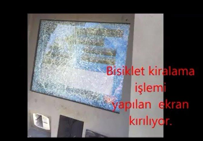 BİSİM'e saldırı kameralara yansıdı