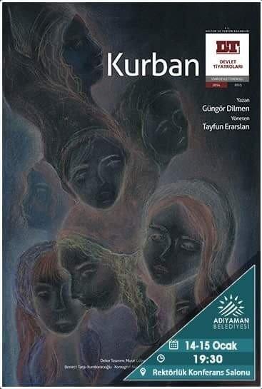 İzmir Devlet Tiyatrosu Adıyamanlılarla Buluşuyor