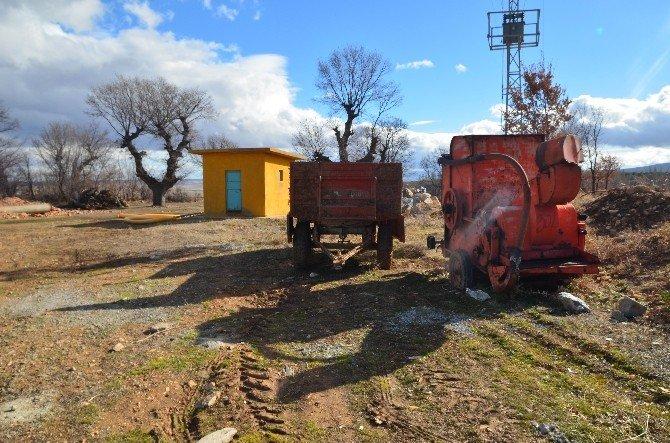 Akşehir'de Tarım Malzemesi Çalan Hırsız Yakalandı