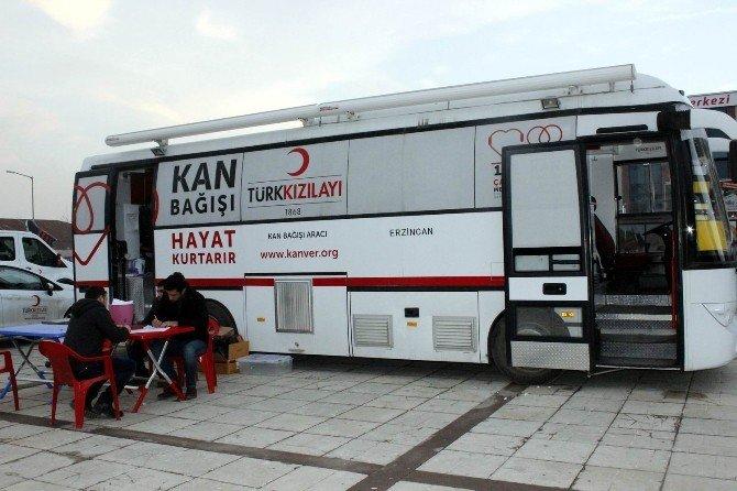 Kan Bağışı Kampanyaları Sürüyor