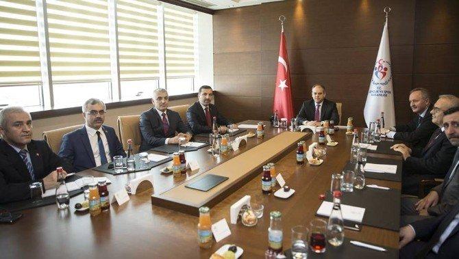 Sarıcaoğlu'nun Ankara Ziyaretleri