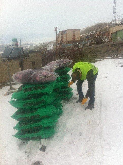 Müs-der Kış Yardımlarına Devam Ediyor…