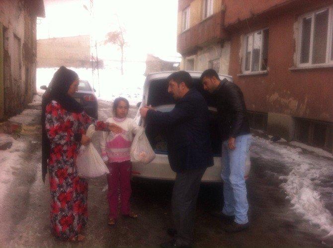 Magesder Sığınmacı Aileleri Yalnız Bırakmıyor
