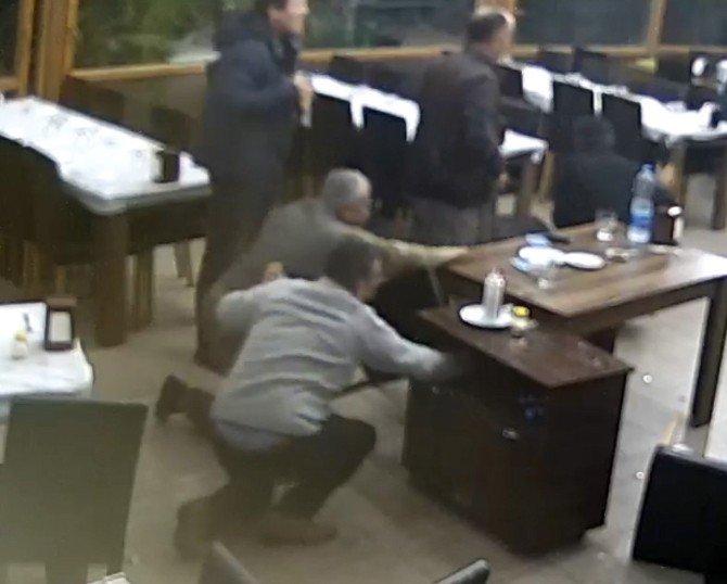 Mersin'deki Hortum Paniği Kamerada