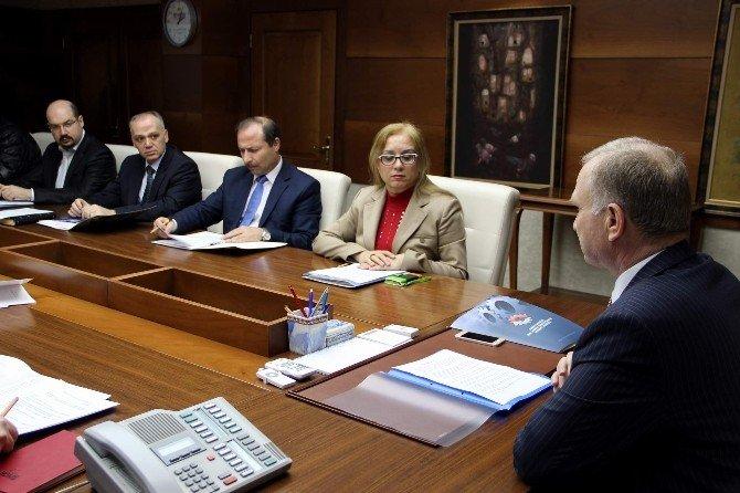 Nevşehir'de Kamu Üniversite Sanayi İş Birliği Toplantısı Yapıldı