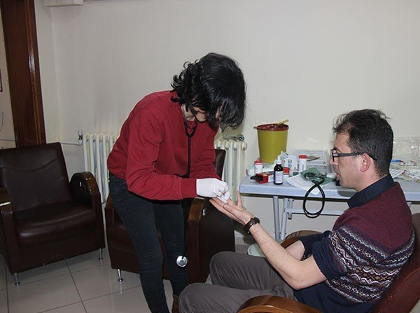 Sivas İl Özel İdare Personeli Kan Bağışında Bulundu