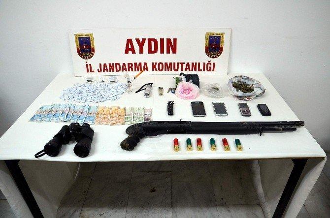 Söke'de Uyuşturucu Operasyonu: 6 Gözaltı