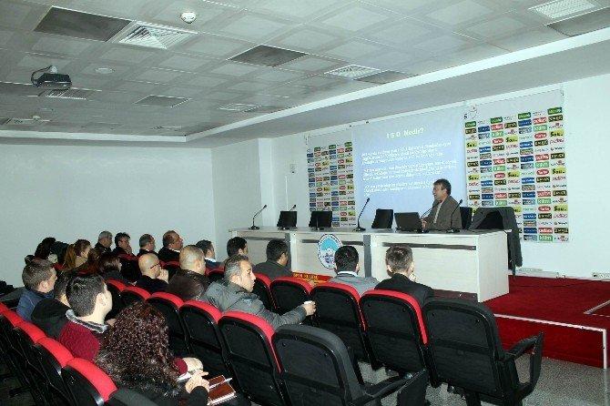 Spor Etkinlikleri A.ş. Personeline İSO Eğitimleri Başladı