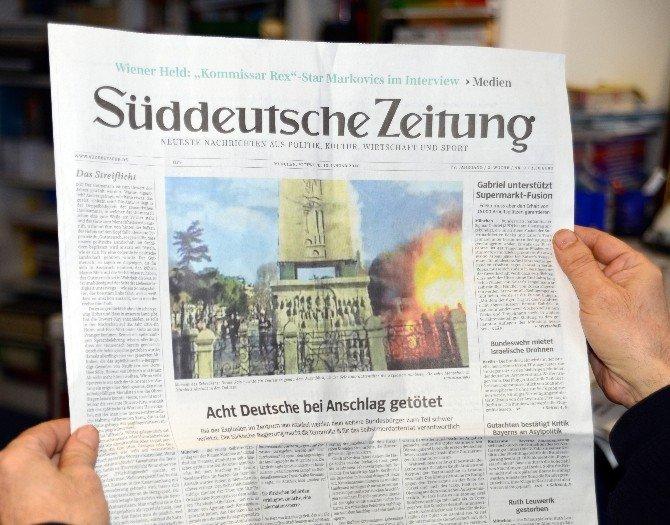 Alman Gazeteleri Sultanahmet'teki Terörü Manşetlerle Kınadı