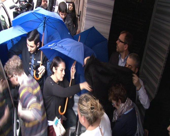Yaralı turistler kaldıkları otelden ayrıldı