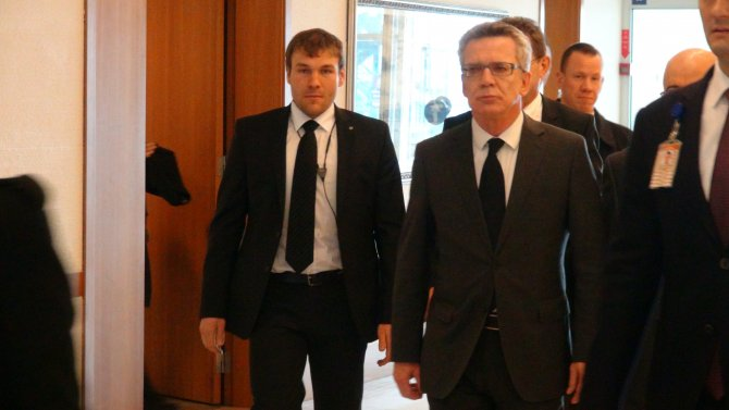 Almanya İçişleri Bakanı Türkiye'de