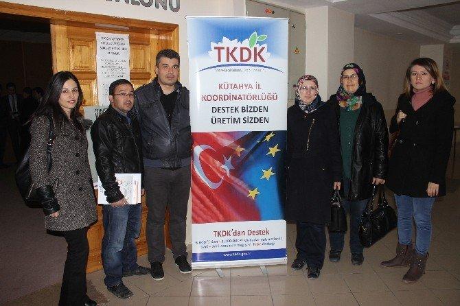 TKDK Kütahya İlçeleri Kalkındırmaya Devam Ediyor
