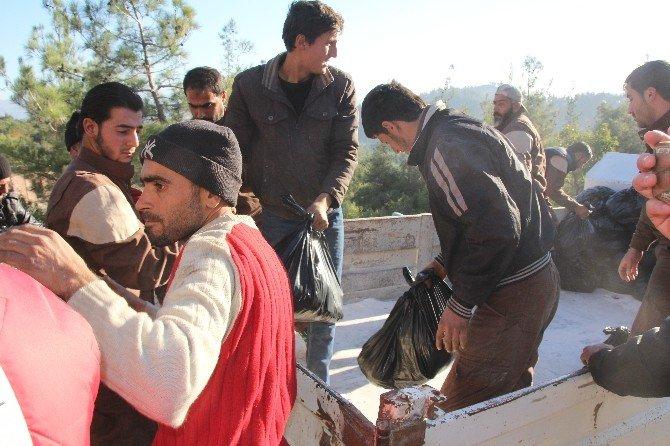 Bayırbucak Türkmenlerine Yardımlar Sürüyor