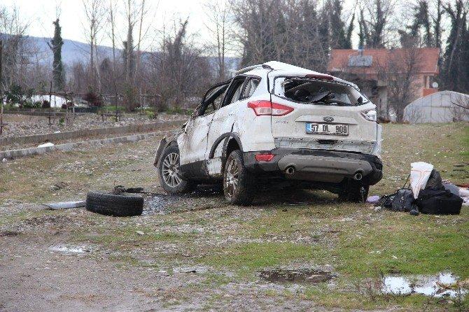 Otomobil Defalarca Takla Attı: 1 Ölü