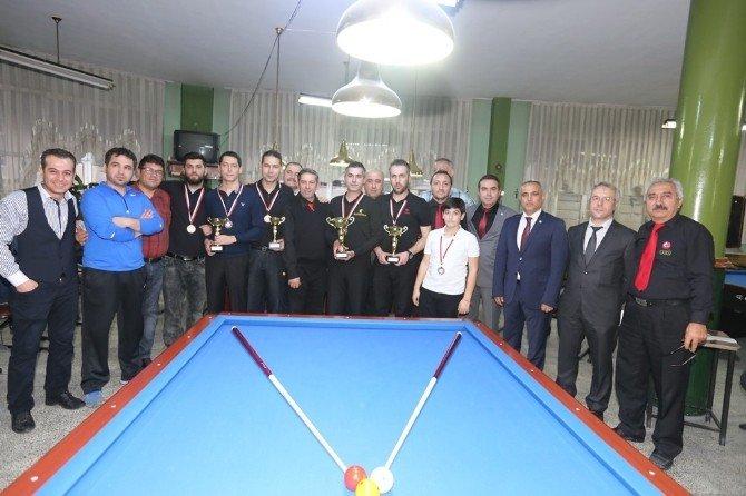 Bilardo Baş Hakemi Okka'dan Efeler Belediyesi'ne Teşekkür