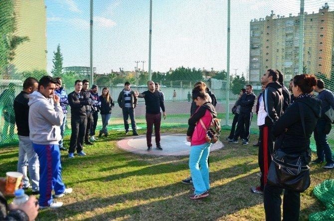Adana'da Atletizm Hakem Kursu Sona Erdi