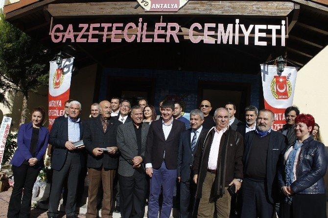 Antalya Gazeteciler Cemiyeti'nin 32. Kuruluş Yıl Dönümü